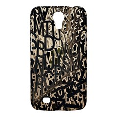 Wallpaper Texture Pattern Design Ornate Abstract Samsung Galaxy Mega 6.3  I9200 Hardshell Case
