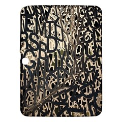 Wallpaper Texture Pattern Design Ornate Abstract Samsung Galaxy Tab 3 (10.1 ) P5200 Hardshell Case
