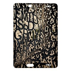 Wallpaper Texture Pattern Design Ornate Abstract Amazon Kindle Fire HD (2013) Hardshell Case