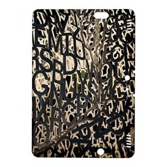 Wallpaper Texture Pattern Design Ornate Abstract Kindle Fire HDX 8.9  Hardshell Case