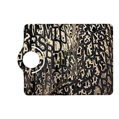 Wallpaper Texture Pattern Design Ornate Abstract Kindle Fire HD (2013) Flip 360 Case