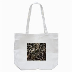 Wallpaper Texture Pattern Design Ornate Abstract Tote Bag (White)