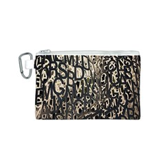 Wallpaper Texture Pattern Design Ornate Abstract Canvas Cosmetic Bag (S)