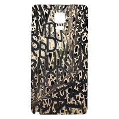 Wallpaper Texture Pattern Design Ornate Abstract Galaxy Note 4 Back Case