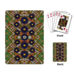 Fleur Flower Porcelaine In Calm Playing Card
