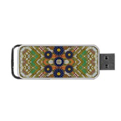 Fleur Flower Porcelaine In Calm Portable USB Flash (One Side)
