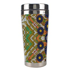 Fleur Flower Porcelaine In Calm Stainless Steel Travel Tumblers