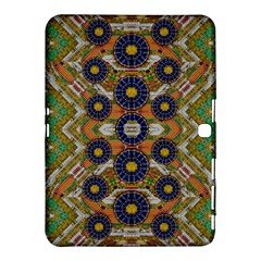 Fleur Flower Porcelaine In Calm Samsung Galaxy Tab 4 (10.1 ) Hardshell Case