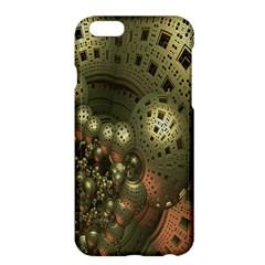 Geometric Fractal Cuboid Menger Sponge Geometry Apple iPhone 6 Plus/6S Plus Hardshell Case
