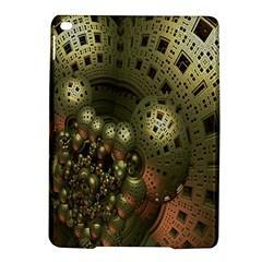 Geometric Fractal Cuboid Menger Sponge Geometry iPad Air 2 Hardshell Cases