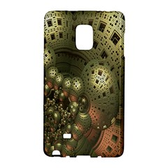 Geometric Fractal Cuboid Menger Sponge Geometry Galaxy Note Edge