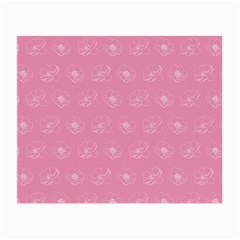 Pink pattern Small Glasses Cloth