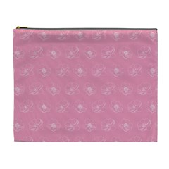 Pink pattern Cosmetic Bag (XL)