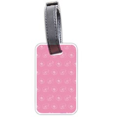 Pink pattern Luggage Tags (One Side)