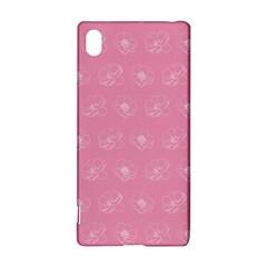 Pink pattern Sony Xperia Z3+