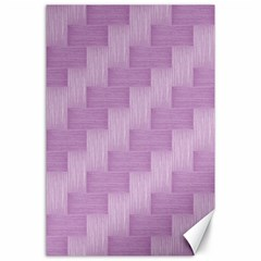 Purple pattern Canvas 24  x 36