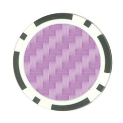 Purple pattern Poker Chip Card Guard (10 pack)