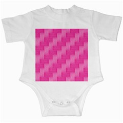Pink pattern Infant Creepers