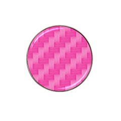 Pink pattern Hat Clip Ball Marker (10 pack)