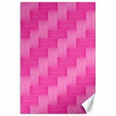 Pink pattern Canvas 24  x 36