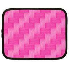 Pink pattern Netbook Case (XXL)