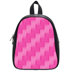 Pink pattern School Bags (Small)