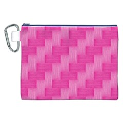 Pink pattern Canvas Cosmetic Bag (XXL)