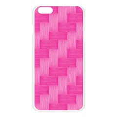 Pink pattern Apple Seamless iPhone 6 Plus/6S Plus Case (Transparent)