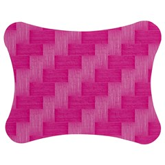 Pink pattern Jigsaw Puzzle Photo Stand (Bow)