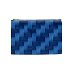 Blue pattern Cosmetic Bag (Medium)