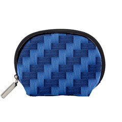 Blue pattern Accessory Pouches (Small)