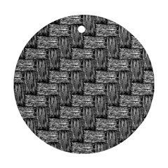 Gray pattern Ornament (Round)