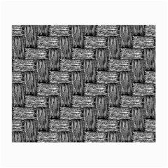 Gray pattern Small Glasses Cloth (2-Side)