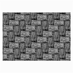Gray pattern Large Glasses Cloth