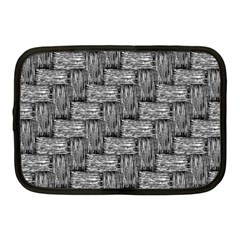 Gray pattern Netbook Case (Medium)