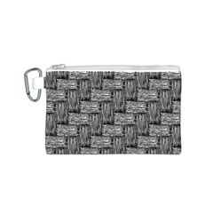 Gray pattern Canvas Cosmetic Bag (S)