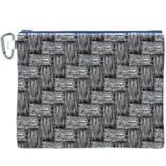 Gray pattern Canvas Cosmetic Bag (XXXL)