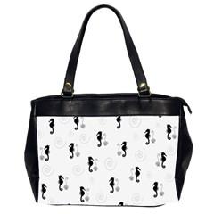 Pattern Office Handbags (2 Sides)