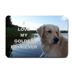 Golden Retriver Love W Pic Small Doormat