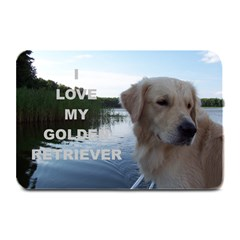 Golden Retriver Love W Pic Plate Mats