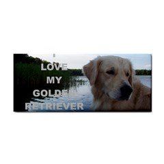 Golden Retriver Love W Pic Cosmetic Storage Cases