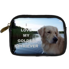 Golden Retriver Love W Pic Digital Camera Cases