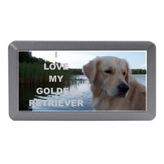 Golden Retriver Love W Pic Memory Card Reader (Mini)