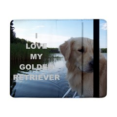 Golden Retriver Love W Pic Samsung Galaxy Tab Pro 8.4  Flip Case