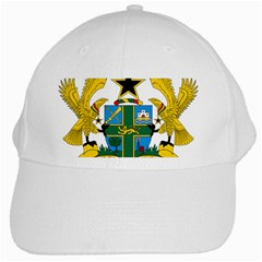 Coat of Arms of Ghana White Cap