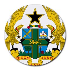 Coat of Arms of Ghana Round Mousepads