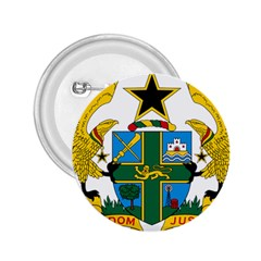 Coat of Arms of Ghana 2.25  Buttons