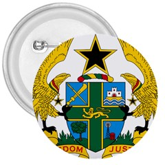 Coat of Arms of Ghana 3  Buttons