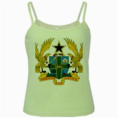 Coat of Arms of Ghana Green Spaghetti Tank