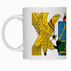 Coat of Arms of Ghana White Mugs